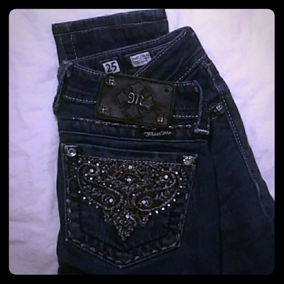 Miss Me Denim - Dark Wash MISS ME Jeans